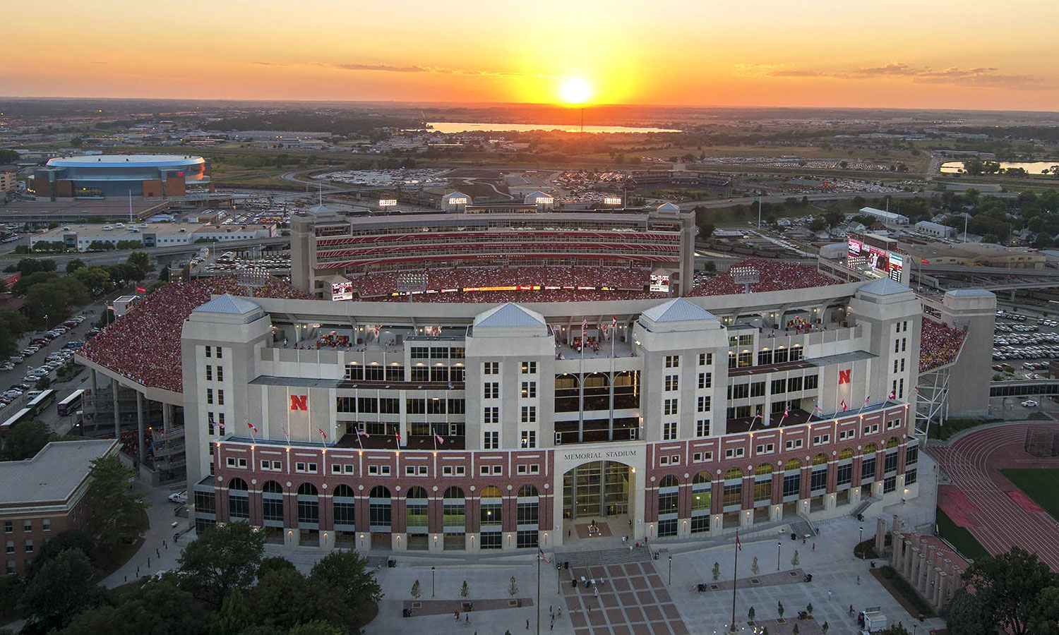 Nebraska Ready Mixed Concrete : The best looking appealing stadium in college football is