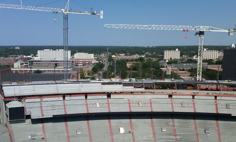 Nebraska Ready Mixed Concrete : Memorial stadium expansion projects nebco inc