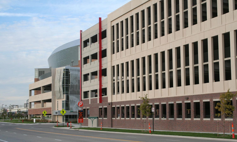 Haymarket & Pinnacle Bank Arena Parking Garages